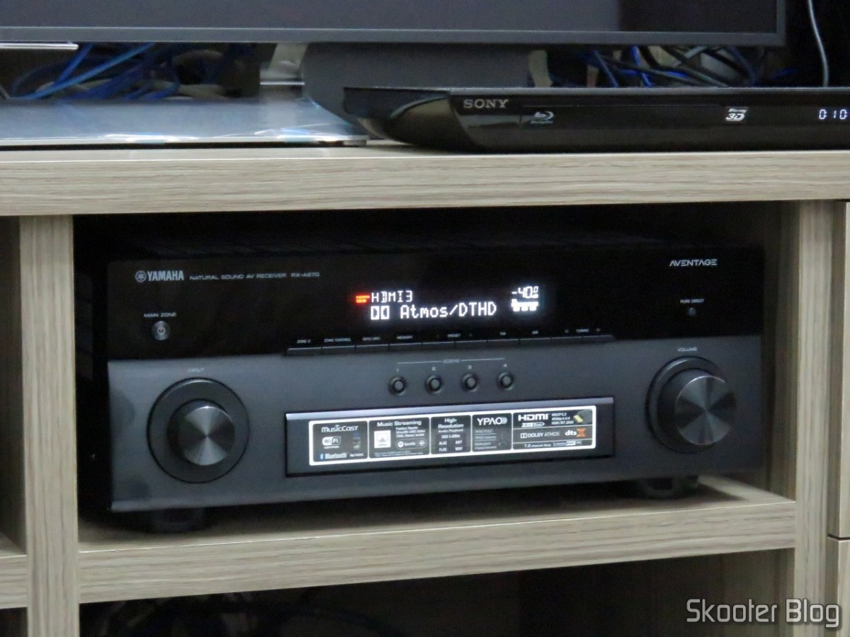 [Review] Receiver Yamaha Aventage RX-A870